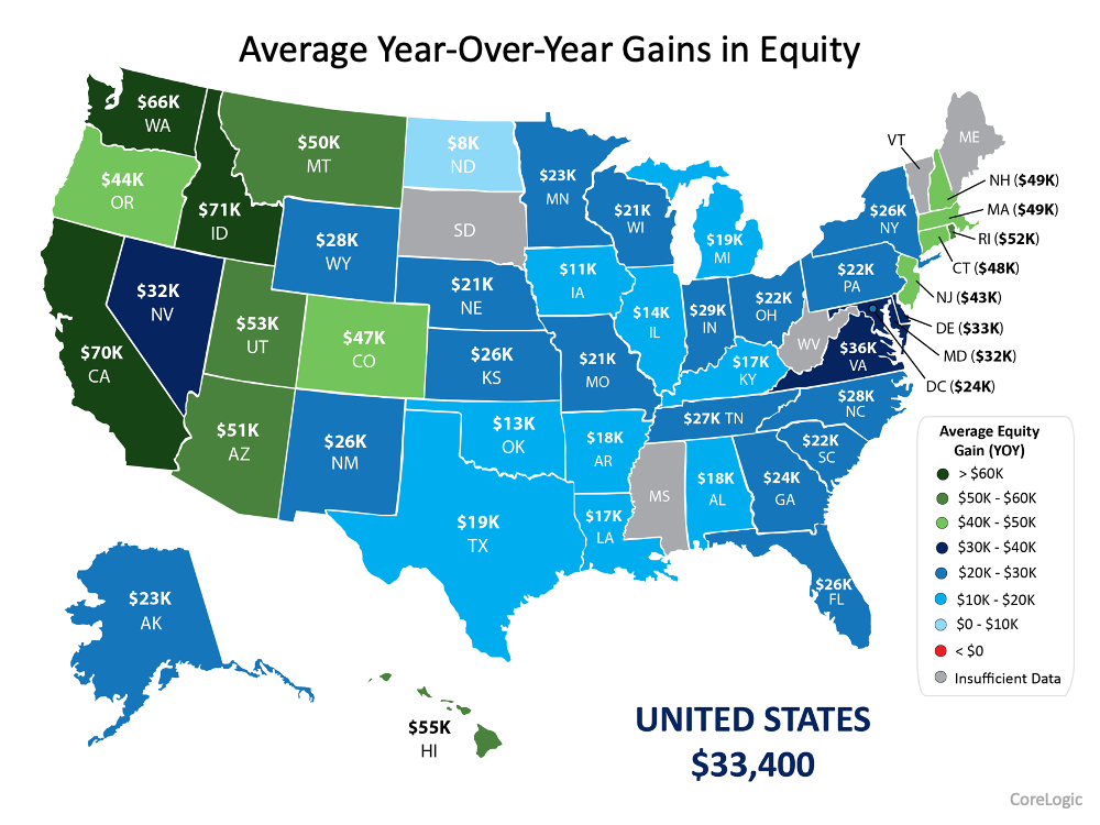 Homeowner Wealth Increases Through Growing Equity This Year   Simplifying The Market